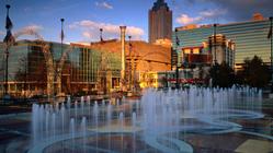Centennial Park Fountains